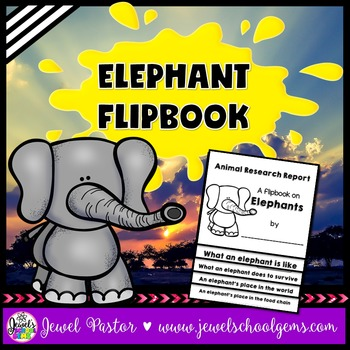 Elephant Research Flipbook