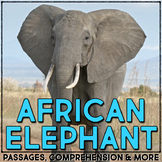 Elephants: Informational Article, QR Code Research Page &
