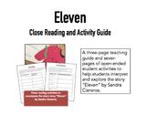 Eleven by Sandra Cisneros Close Reading Guide