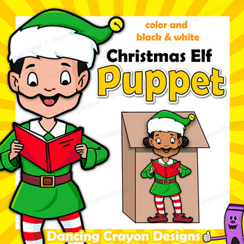 Christmas Elf Craft Puppet