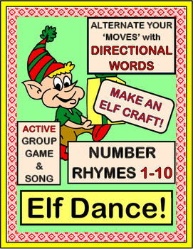 """Elf Dance!"" - Christmas Number Rhymes with Alternating Bo"
