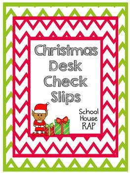 Elf Desk Check Slips