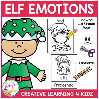 Elf Emotion Cards