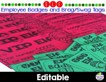 Elf Employee ID Badge