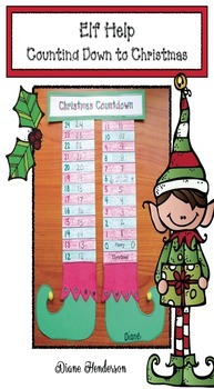 Elf Help! Countdown to Christmas Craftivity