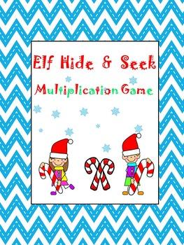Elf Hide & Seek Multiplication Game