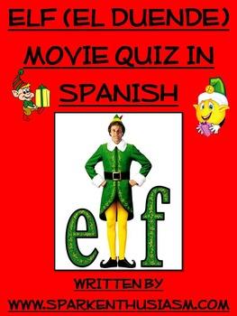 Elf Movie Questions in Spanish / El Duende