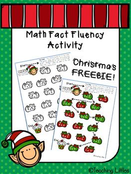 Elf Multiplication Fluency Activity