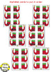 Alphabet Matching Cards ~ Elf Shoes/Christmas