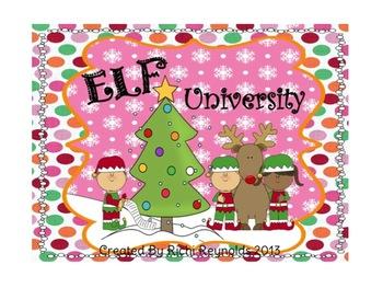 Elf University: A Christmas Elves Thematic Unit