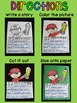 Elf Writing Activity (NO PREP Elf Craft)