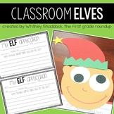 Elf Writing Packet