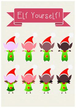 Elf Yourself - Cute Elves Templates