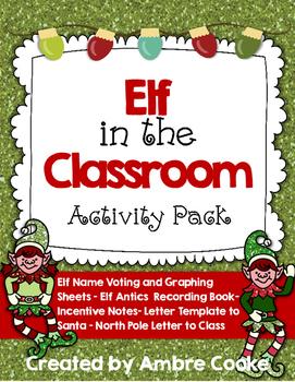 Elf Book & Elf in the Classroom Activity Pack
