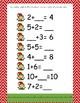 Elf math and literacy bundle