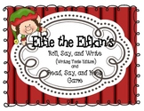 Elfie the Elfkins - CVC Roll, Say, Write and Read, Say, Keep