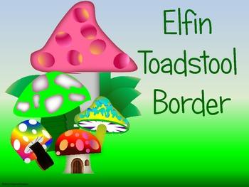 Elfin Toadstool Border