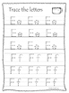 Elijah and the Widow A-Z Tracing printable worksheets. Pre
