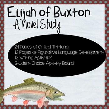 Elijah of Buxton Novel Study