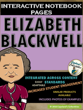 Elizabeth Blackwell's Interactive Notebook Pages