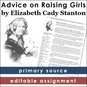 Elizabeth Cady Stanton Primary Source