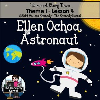 StoryTown Lesson 4 {Ellen Ochoa, Astronaut - 3rd Grade}