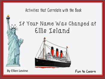. . . If your Name was Changed at Ellis Island~35 pgs of C