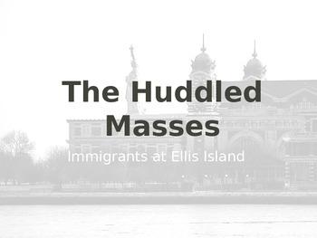 Ellis Island Primary Source Investigation