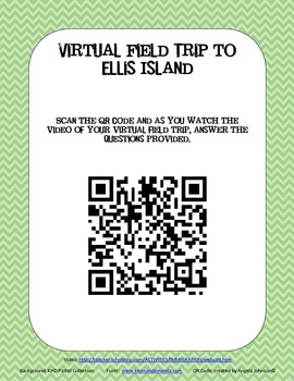 Ellis Island QR Code Activity - Immigration