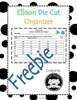 Ellison Die Freebie