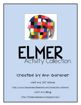 Elmer Collection - Asking/Telling Sentences and Word Work