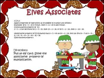 Elves Associates!! (Associative & Distributive Property of