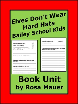 Elves Don't Wear Hard Hats Bailey School Kids Reading Comp