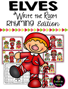 Elves Write the Room - Rhyming Editition