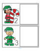 Elves and Candy Canes Literacy Math Centers Activities for