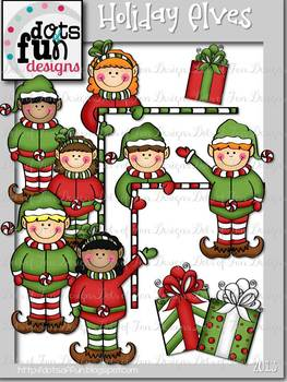 Elves for the Holidays ~Dots of Fun Designs~