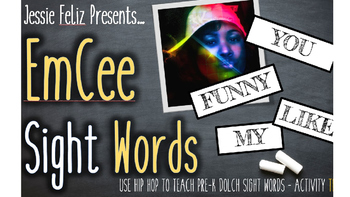 EmCee Dolch Sight Words Pre-K Activity Two (PowerPoint, Mu