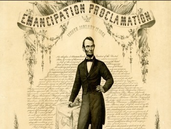 Emancipation Proclamation - Power Point History Review Fac