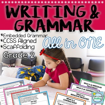 2nd Grade Grammar ~ Embedded Grammar and Writing All in One