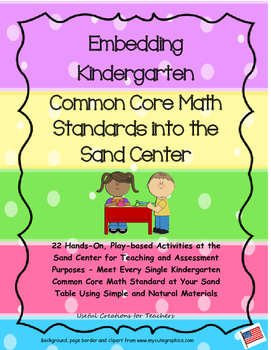 Embedding Kindergarten Common Core Math Standards into the