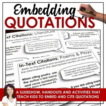 Research skills: Using Quotations (MLA)