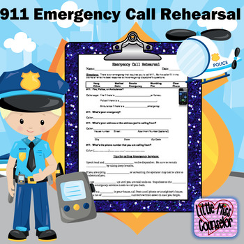 911 Emergency Call Rehearsal