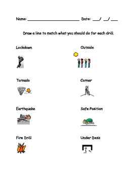 Emergency Procedures: Drill Match (Help for not just Autism)