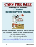 Emergency Sub Plans Caps For Sale - 1st Grade