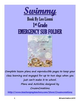 Emergency Sub Plans Swimmy - 1st Grade