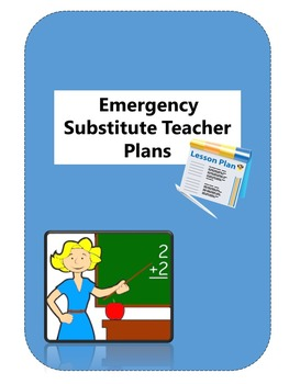 Emergency Substitute Teacher Plans Language Arts Lesson