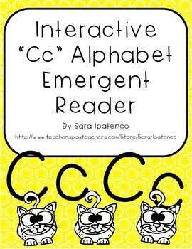 Emergent Easy Interactive Alphabet Reader Book: Letter Cc
