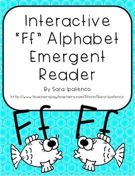 Emergent Easy Interactive Alphabet Reader Book: Letter Ff