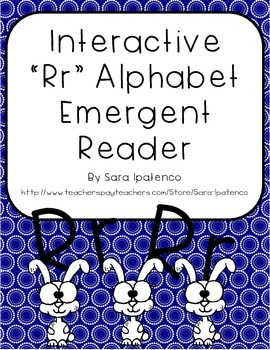 Emergent Easy Interactive Alphabet Reader Book: Letter Rr