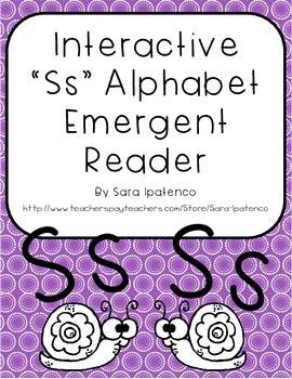 Emergent Easy Interactive Alphabet Reader Book: Letter Ss